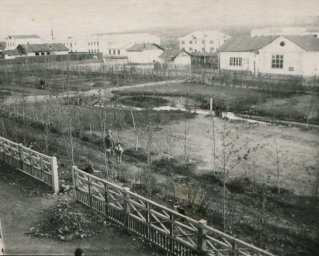 Середина 1960-х, вид на парк