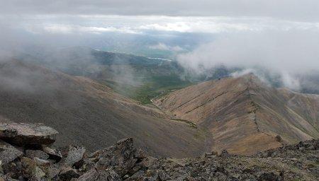 Вид по пути на вершину.