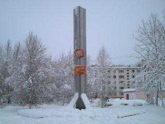 Стела Победы после реконструкции 2012 года