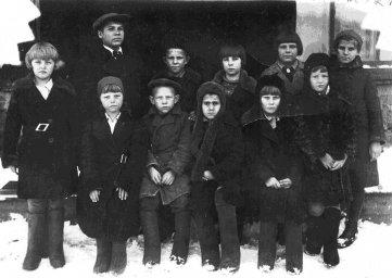 1938 год, палаткинские школьники